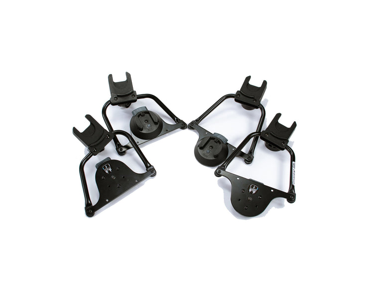Indie Twin Maxi Cosi/ Cybex/ Nuna Car Seat Adapter- Set