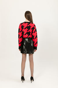 Maglione pied de poule Myteresina