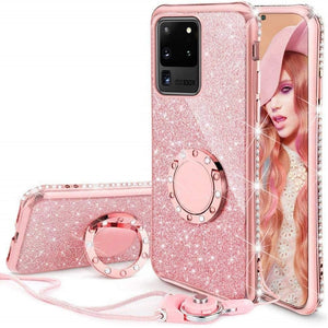Galaxy Rhinestone Case - Gorgeously Boutique