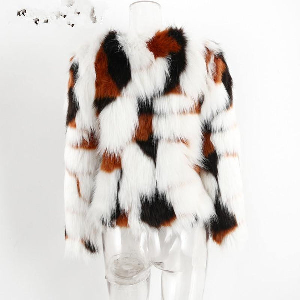 Amberlee Faux Fur ( Mom & Me) - Gorgeously Boutique