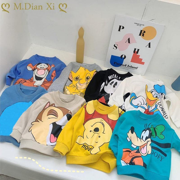 Cartoon Sweatshirts - Gorgeously Boutique