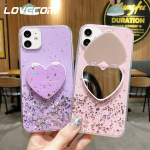 Heart Mirror Case - Gorgeously Boutique