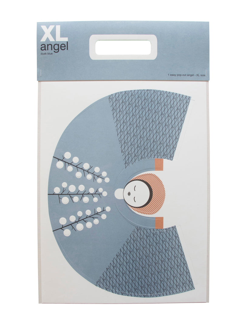 XL angel dusk blue