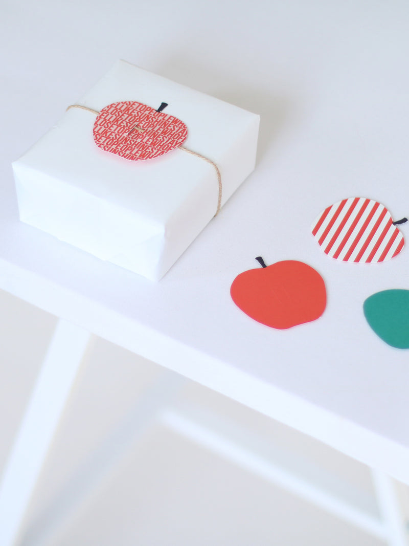 fruit cadeaulabels