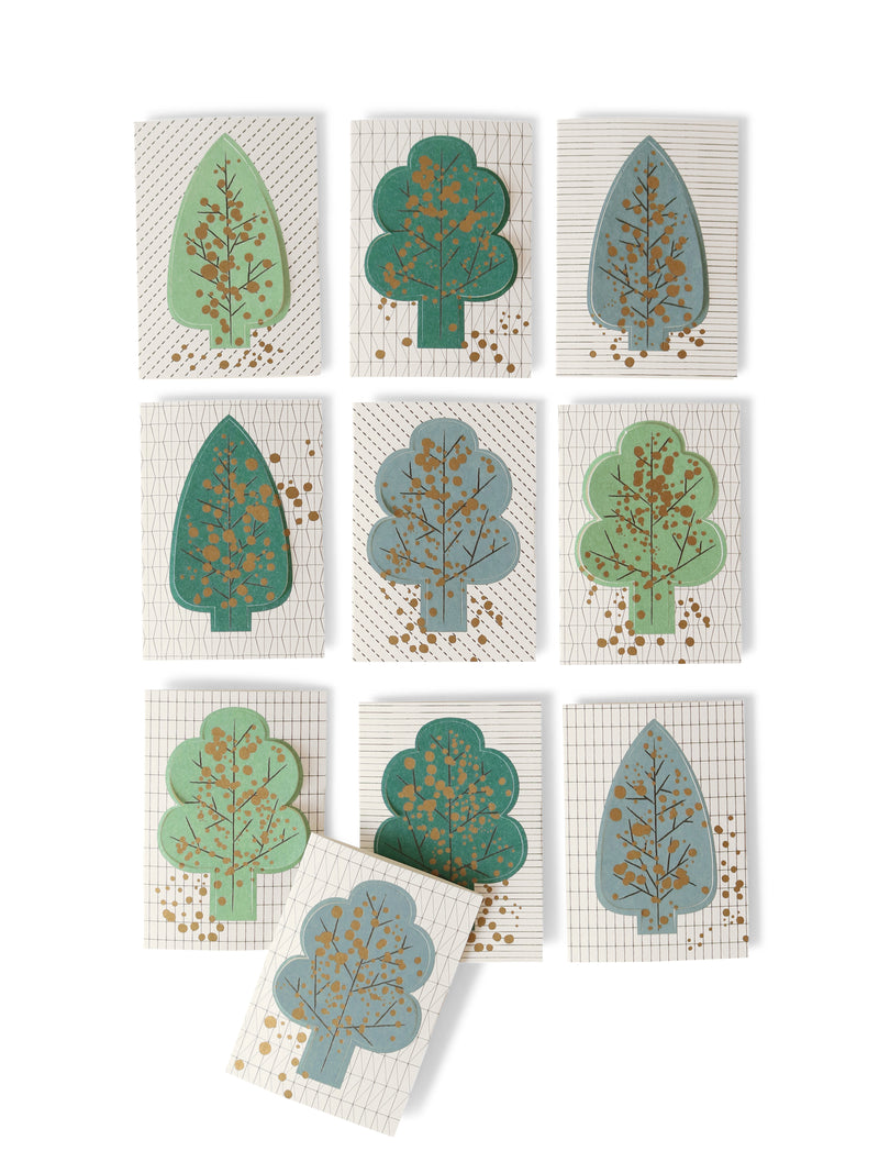 forest mini cards