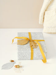 cadeau labels - leaves
