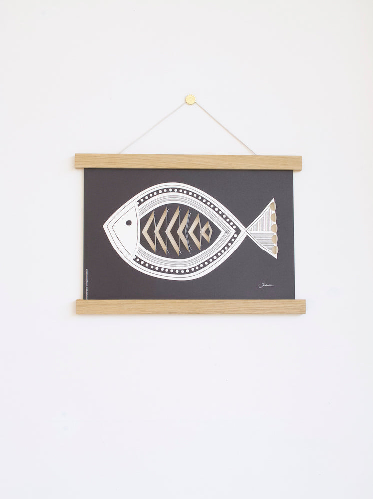 pop-up poster fish