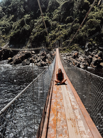 Suspension Bridge Tsitsikamma Nationalpark