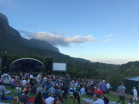 New Years Concert Kirstenbosch