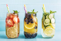 Use purified water to enhance taste of fruit infused summer beverages!