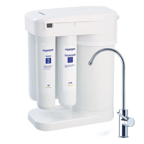 Aquaphor Water Filters RO 101 Most advanced reverse osmosis system under sink installation tankless