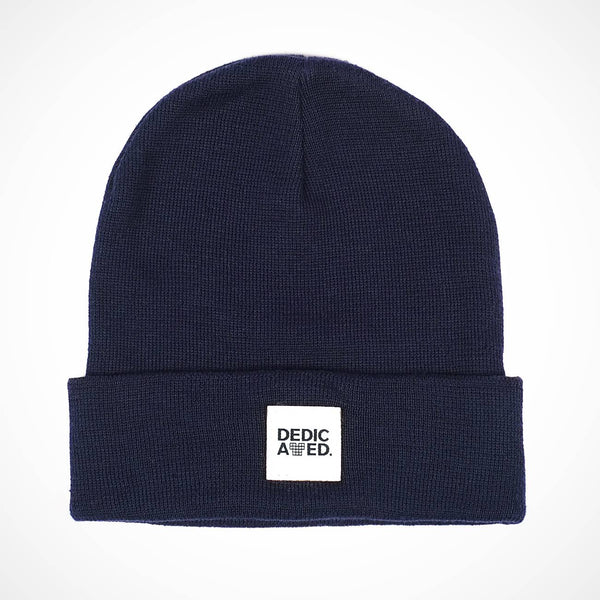 Kiruna Beanie Navy | made from plastic bottles