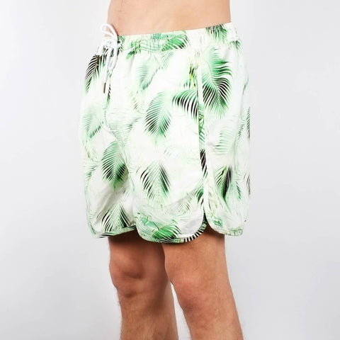 Bright Leaves Swim Shorts