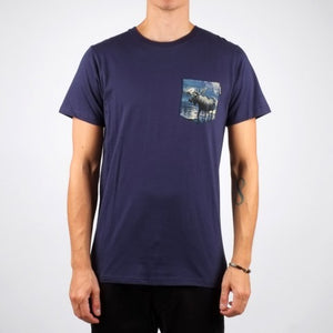 Organic Pocket Moose T-shirt