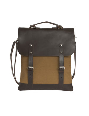 Messenger Tote Leather Top