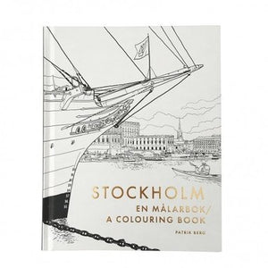 Stockholm Colouring Book
