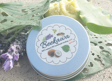 LIMITED EDITION 50ml ORIGINAL BEEKAWA MAGNESIUM & ALOE VERA BODY BUTTER