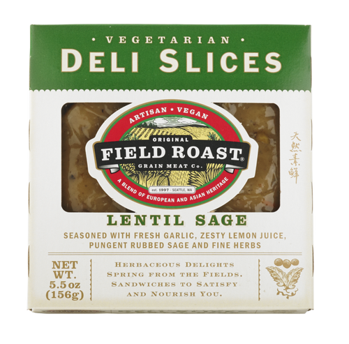 Field Roast Lentil Sage Deli Slices