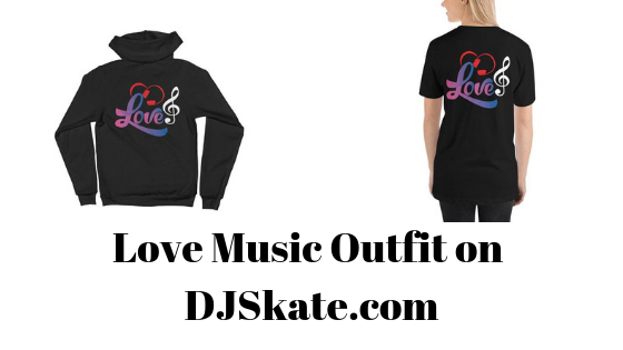 Love Music Shirt and hoodie