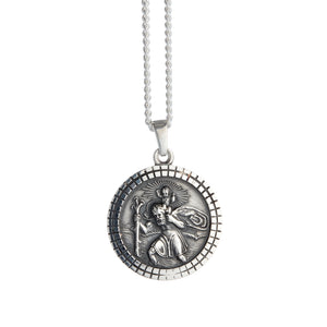mens 21st birthday 18th birthday saint christopher gift