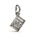 passport personalised silver charm off the map jewellery travel gifts
