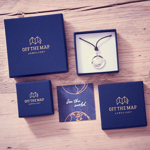 Off The Map Travel Gifts and Aventure Jewellery from Brighton UK