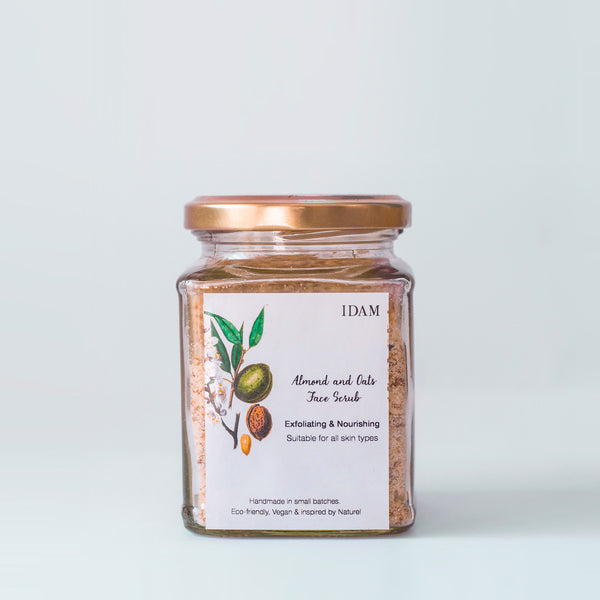 Almond & Oats Face Scrub