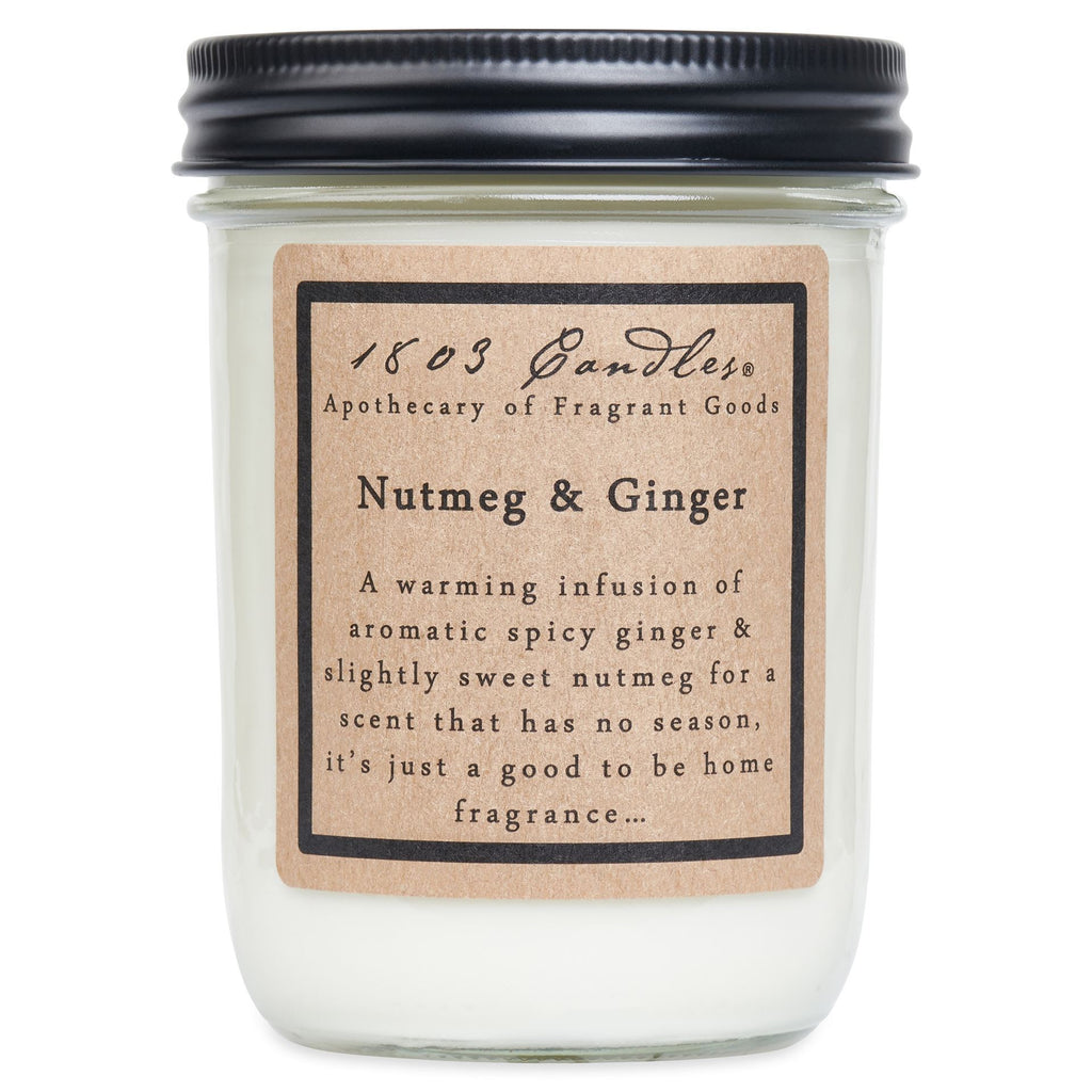 NUTMEG & GINGER - LARGE CANDLE - CHICKEN ROW MARKET
