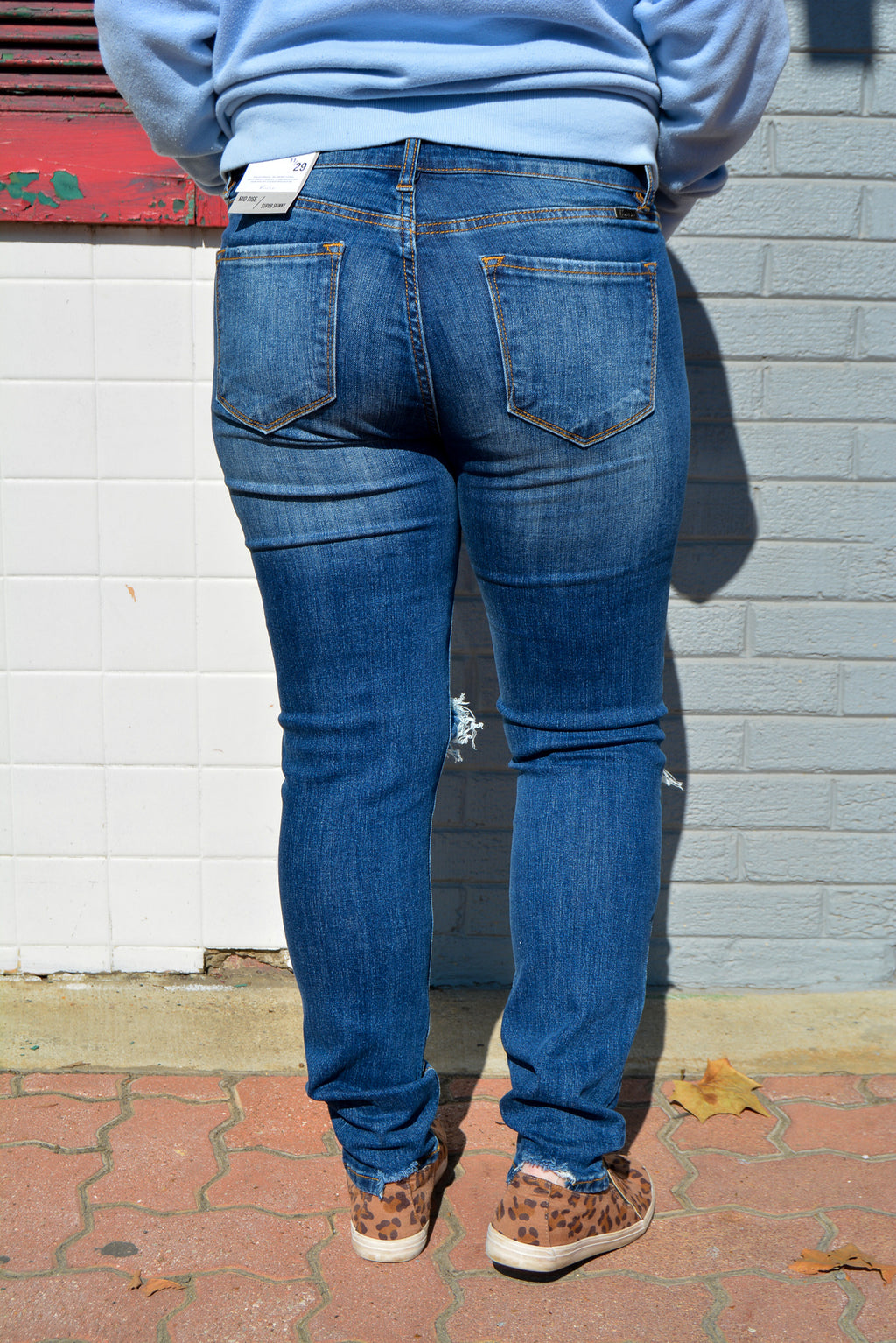 """KATY"" KANCAN DENIM SKINNIES"