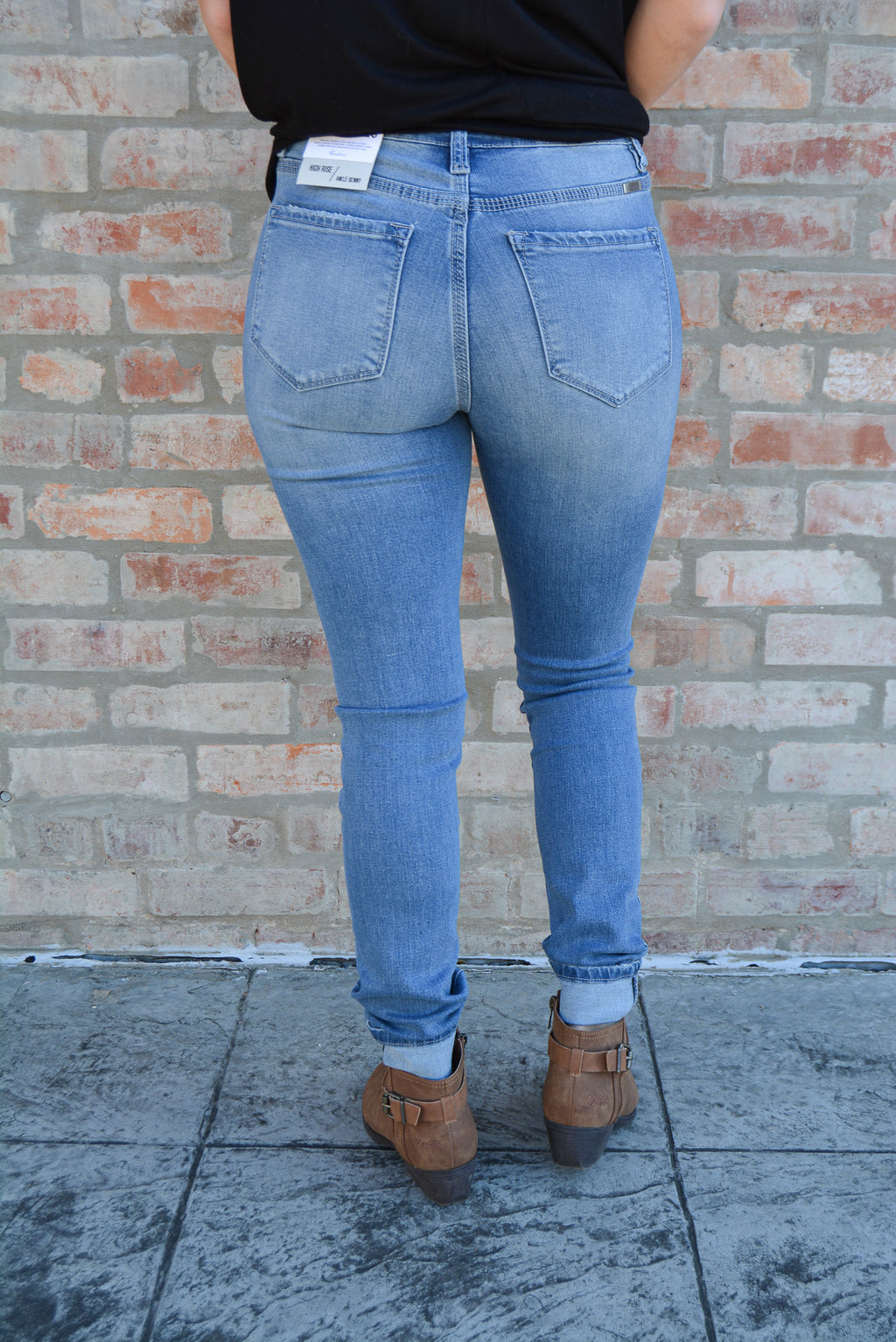 """RAILEY"" KANCAN DENIM SKINNIES"