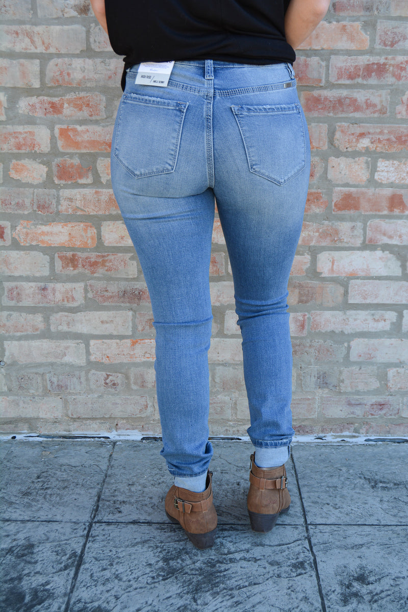 """RAILEY"" KANCAN DENIM SKINNIES - CHICKEN ROW MARKET"