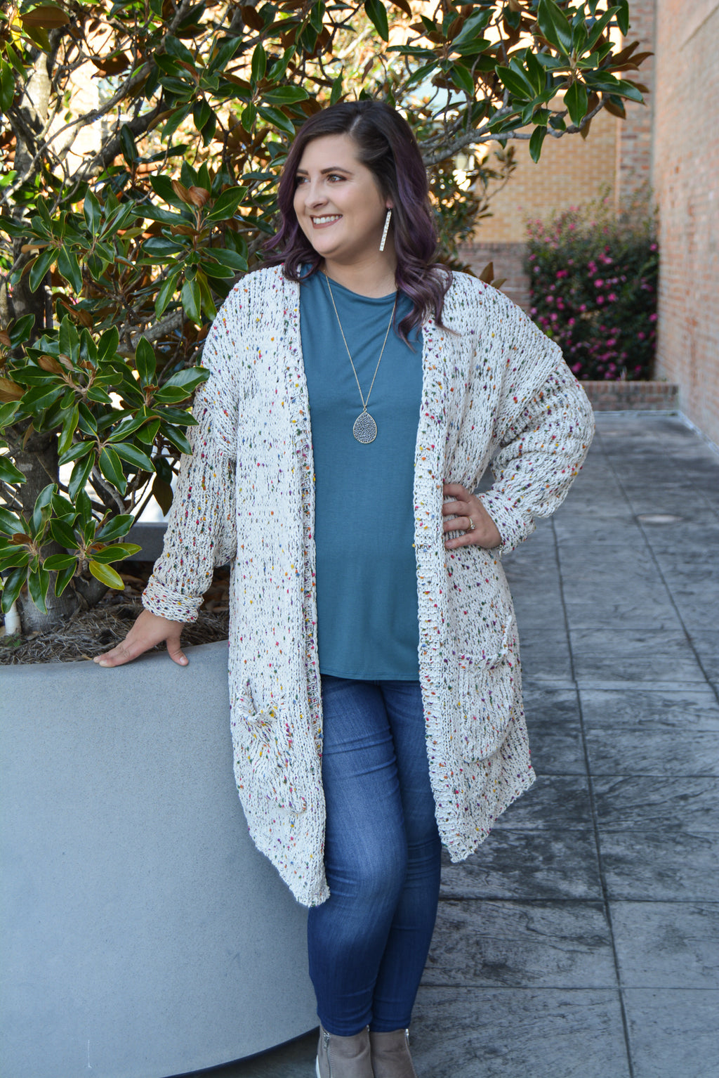 FUN-FETTI CARDIGAN