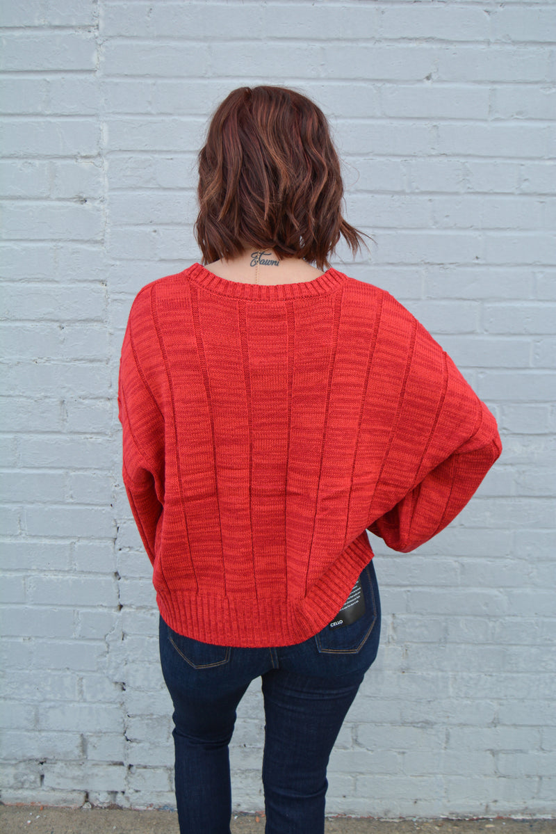 RED HOT BABE SWEATER