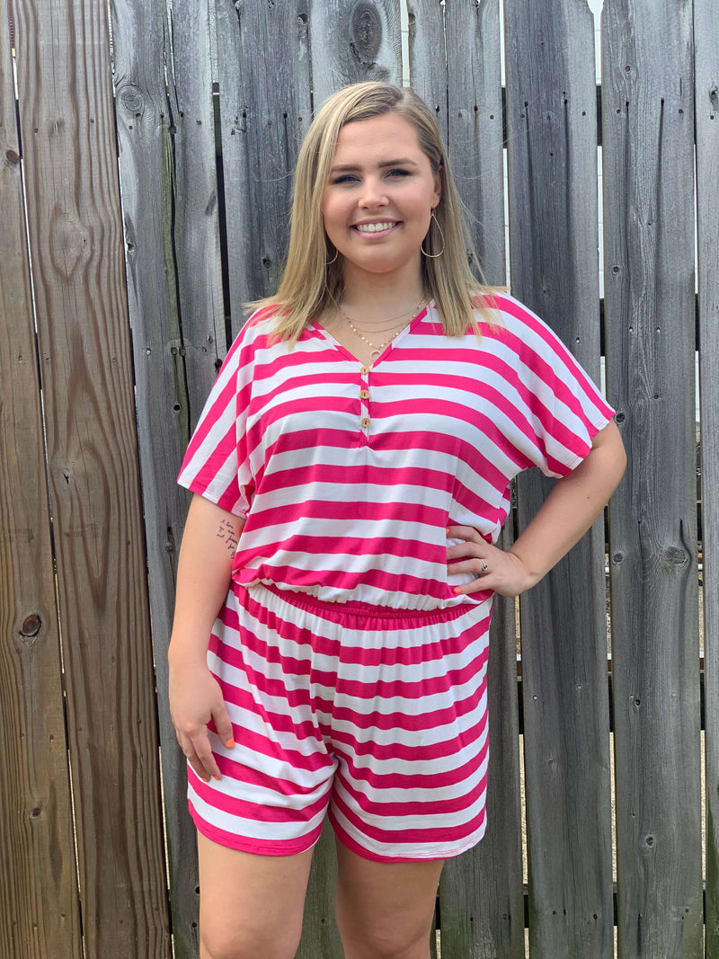 RUN AWAY WITH MY HEART ROMPER - CHICKEN ROW MARKET