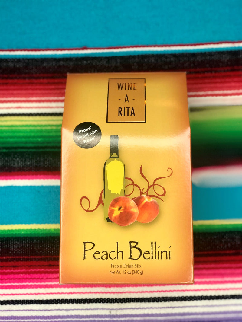 PEACH BELLINI WINE-A-RITA