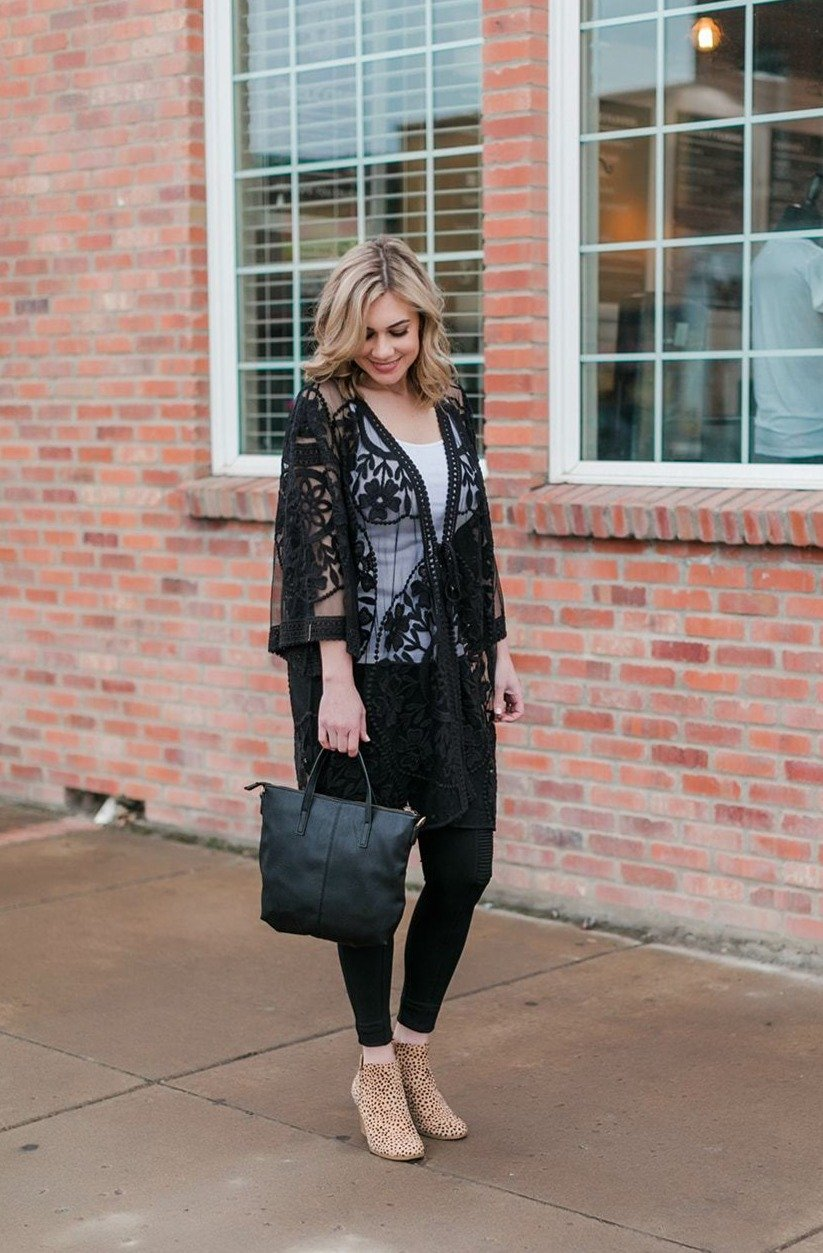 All Dolled Up Lace Cardigan