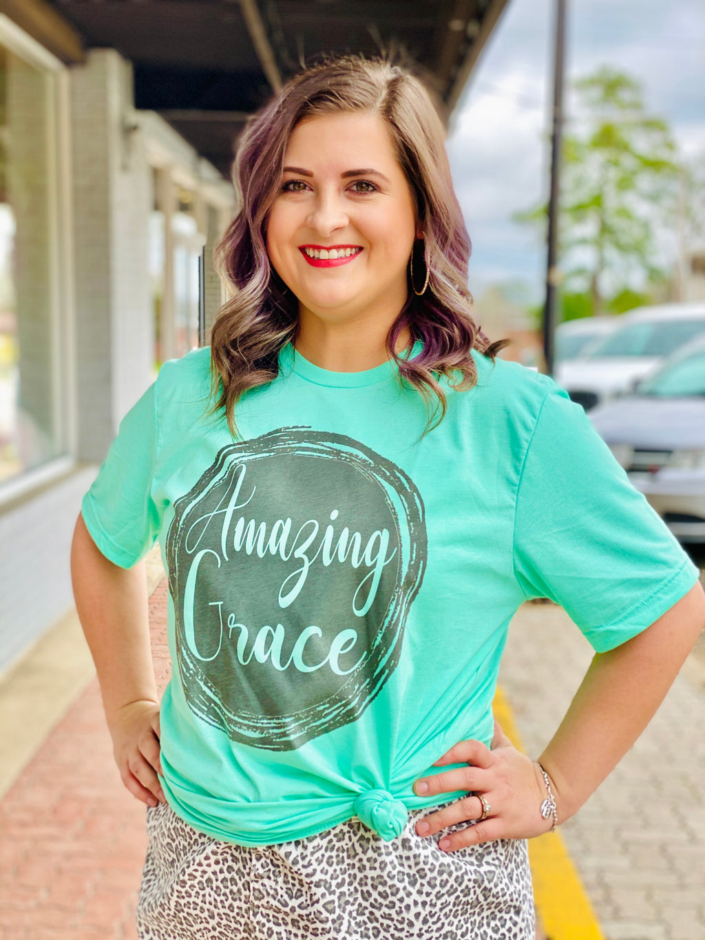 AMAZING GRACE GRAPHIC TEE - CHICKEN ROW MARKET