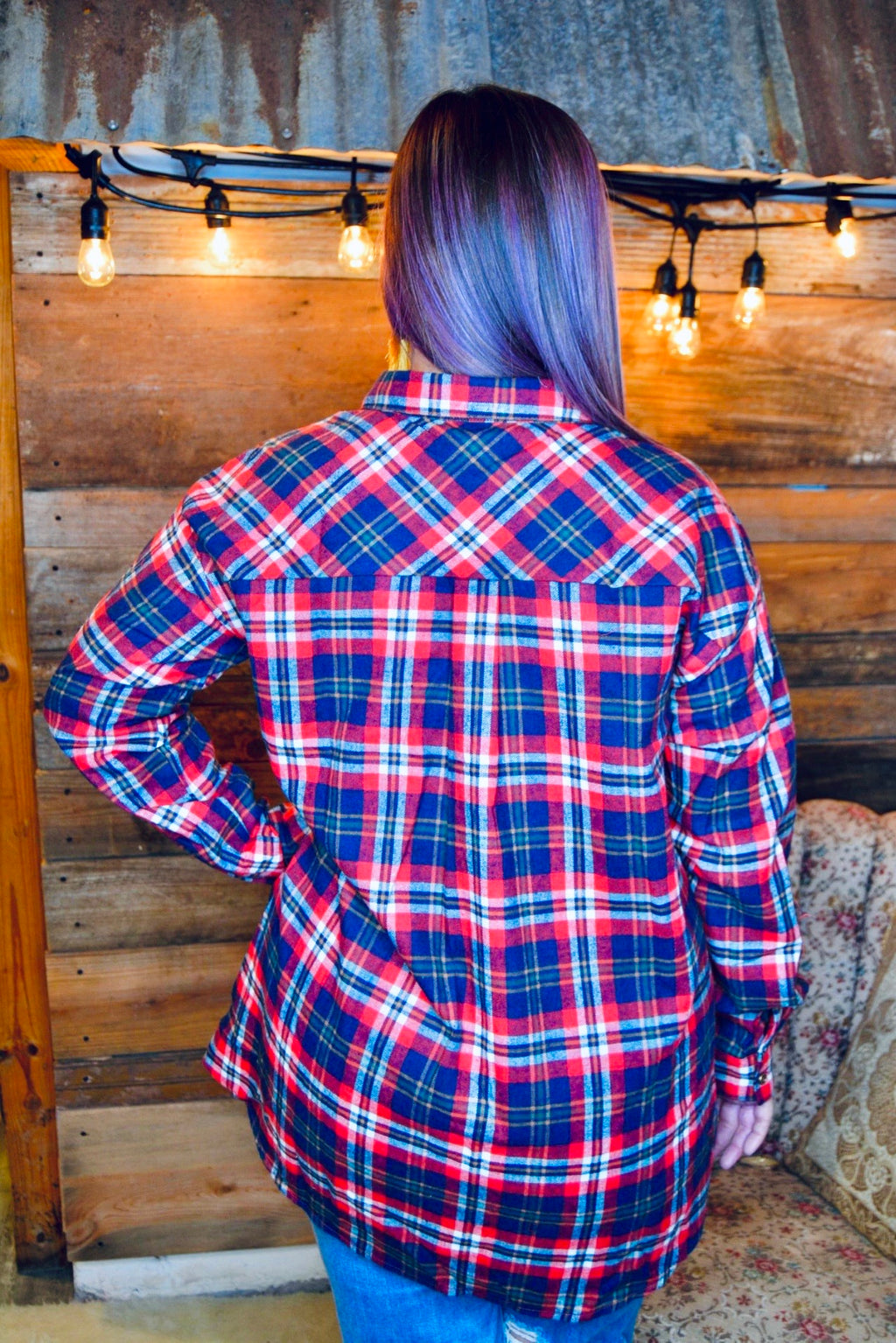 PRETTY IN PLAID FLANNEL - CHICKEN ROW MARKET