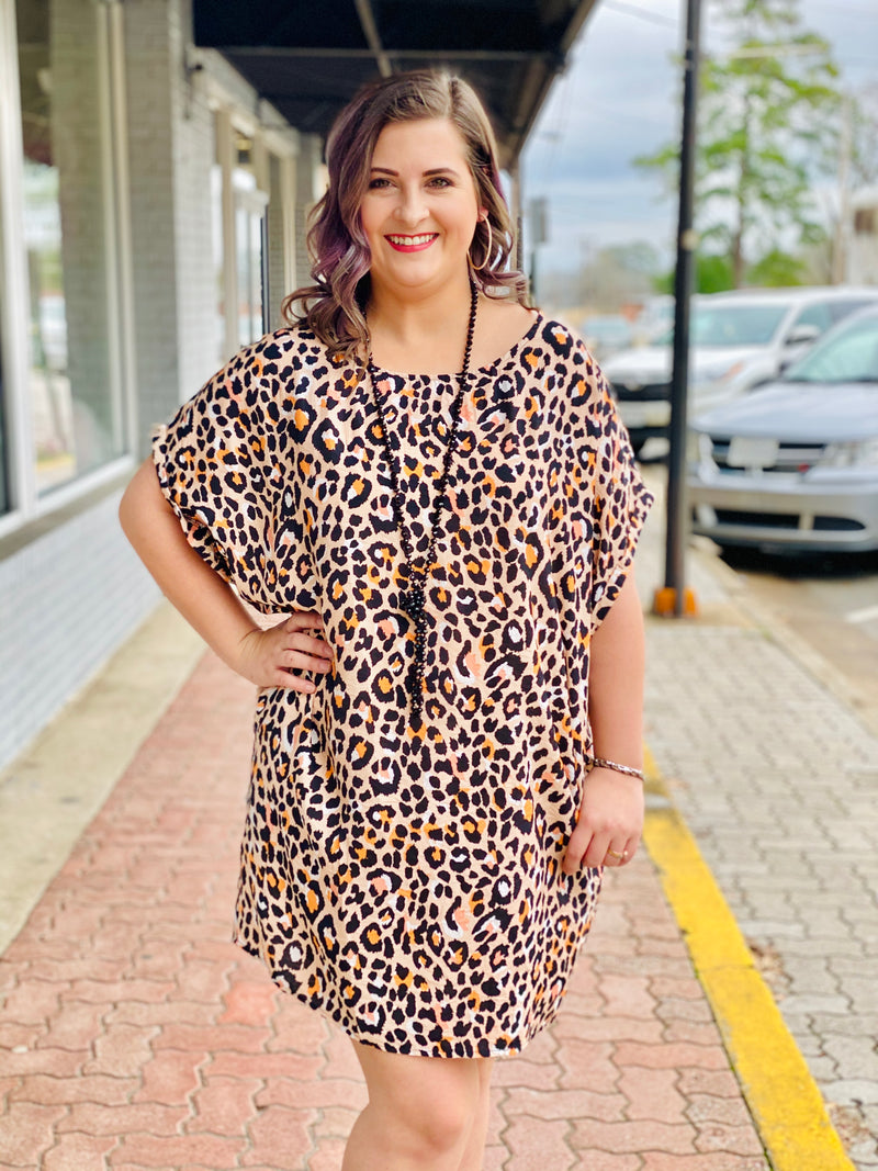 PROWL AROUND LEOPARD DRESS
