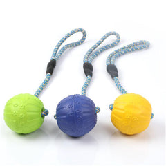 Pet Molar Bite Toys Dog Rubber Chew Balls