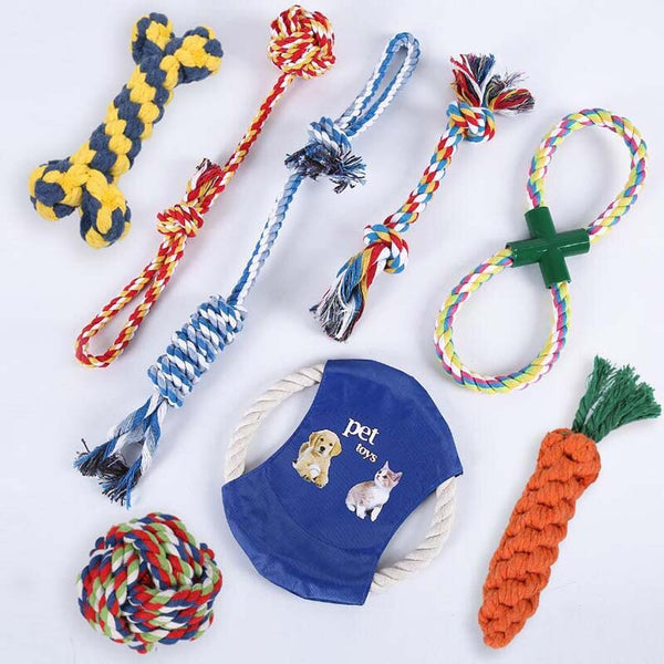 Dog Bite Rope Molar Toy