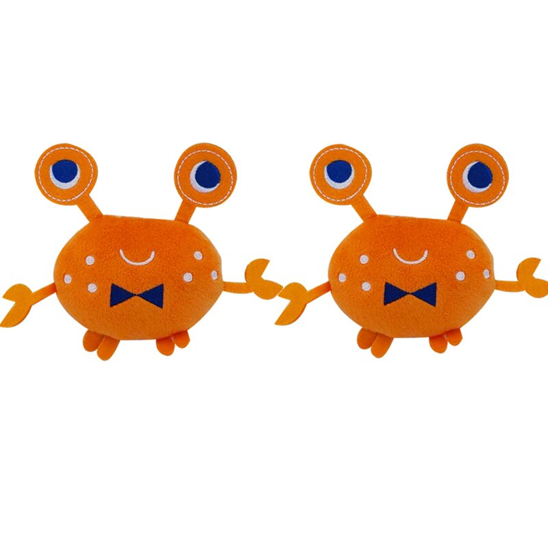 2PCS Lobster Plush Squeaky Dog Toy