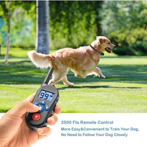 Rechargeable Waterproof Electronic Dog Training Collars