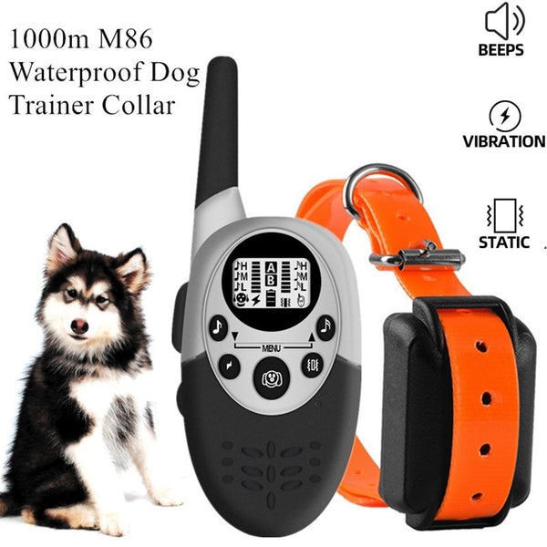 1000m Waterproof Dog Trainer Collar