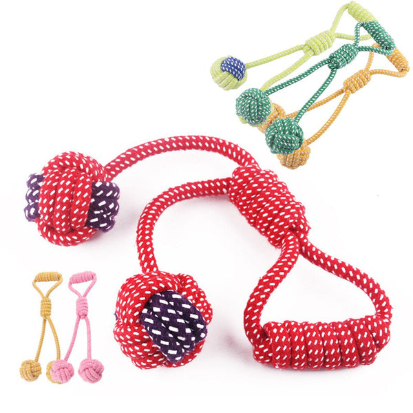Braided Cotton Rope Ball Pet Chew Toy