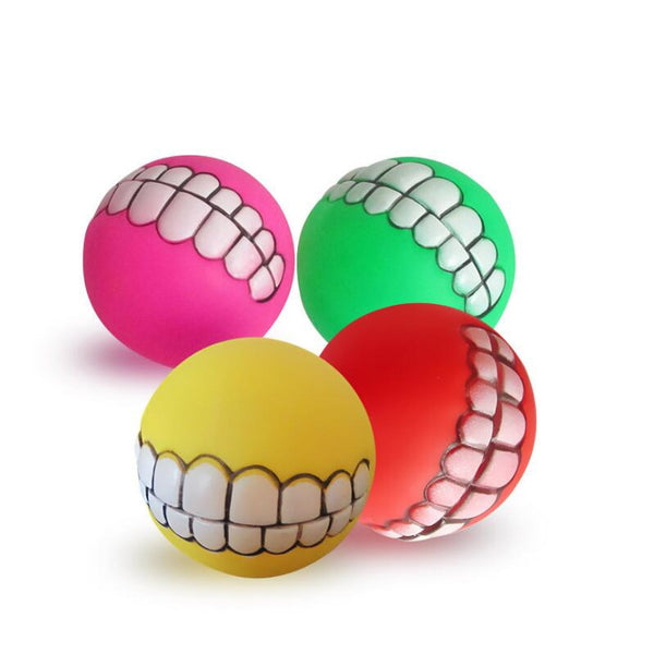 Rubber Ball Chewing Toy for Dog