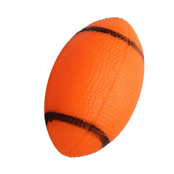 Sounding Chewing Squeaky Toy for Dogs  (Orange One Size)