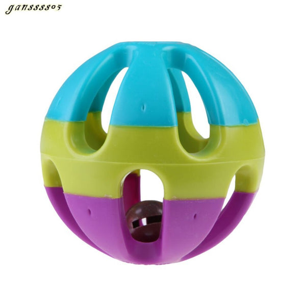 Jingle Ring Bell Ball for Pet (As picture One Size)