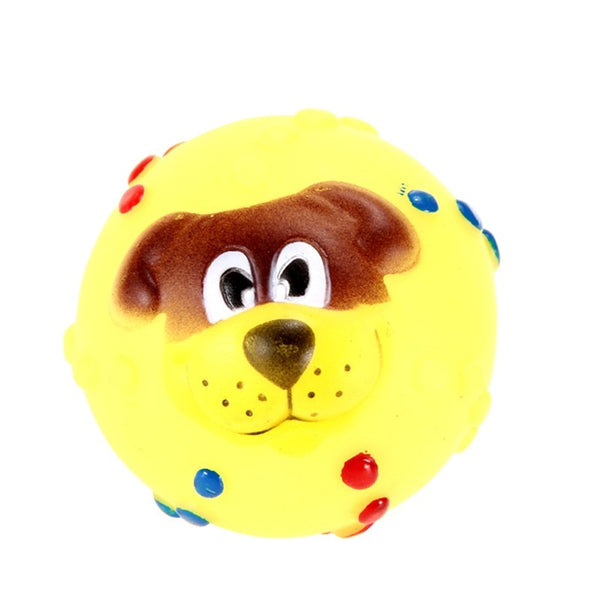 Dog Soft Rubber Chew Sound Ball Toys