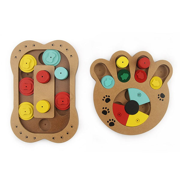 Educational Puzzle Interactive Toys For Dogs and Cats